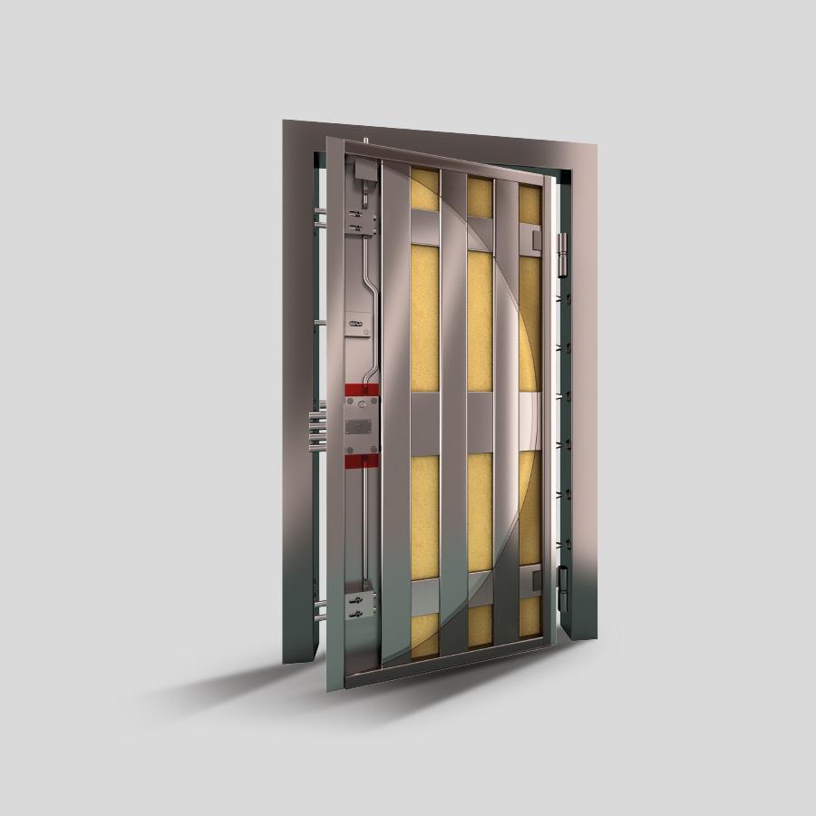 Reinforced Security Doors Porta Block Portablock