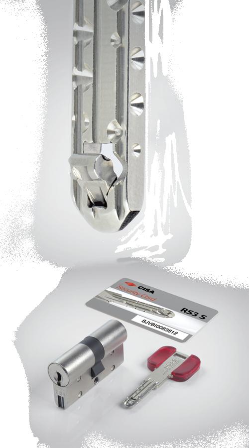 Porta Block - CISA RS3 S