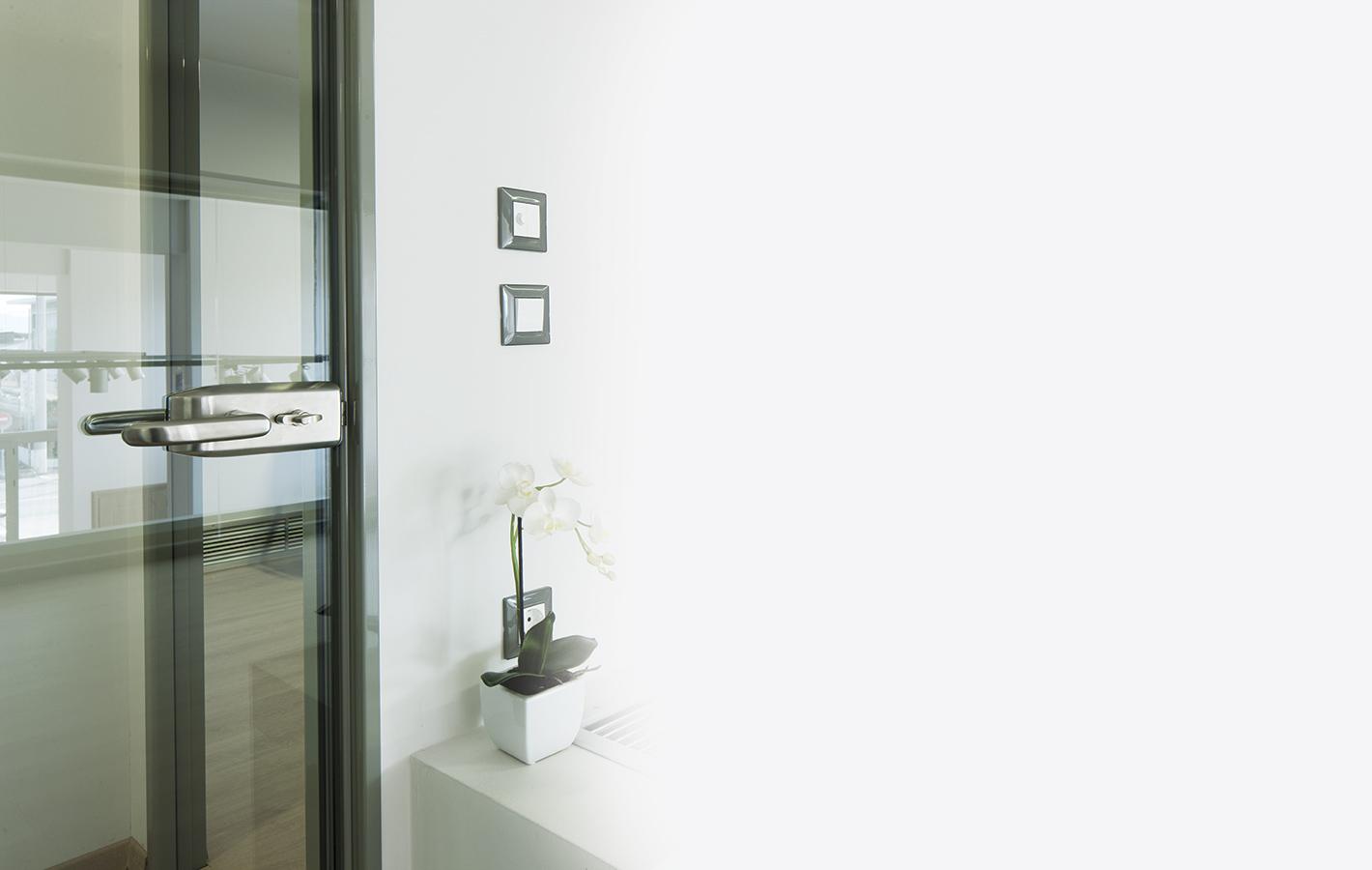 Porta block - Γυάλινες πόρτες