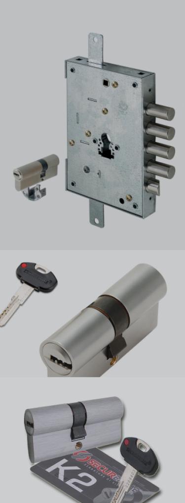Κλειδαριά - SECUREMME K2 - Σύνθεση