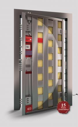 Porta Block Diamond reinforced security doors