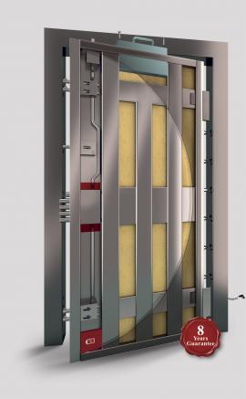 Porta Block Revolution reinforced security doors
