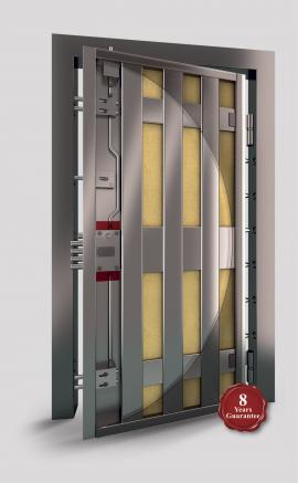 Porta Block Rock reinforced security doors